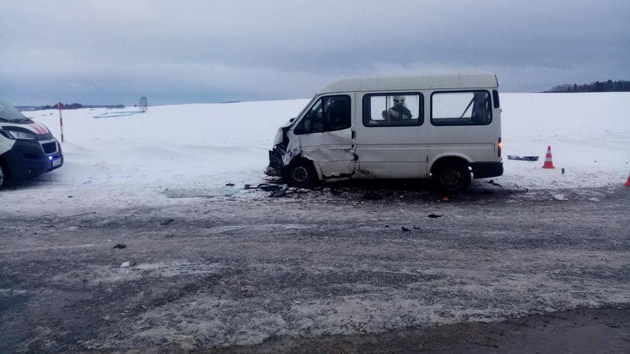 Под Гродно в лобовом столкновении погибли два человека