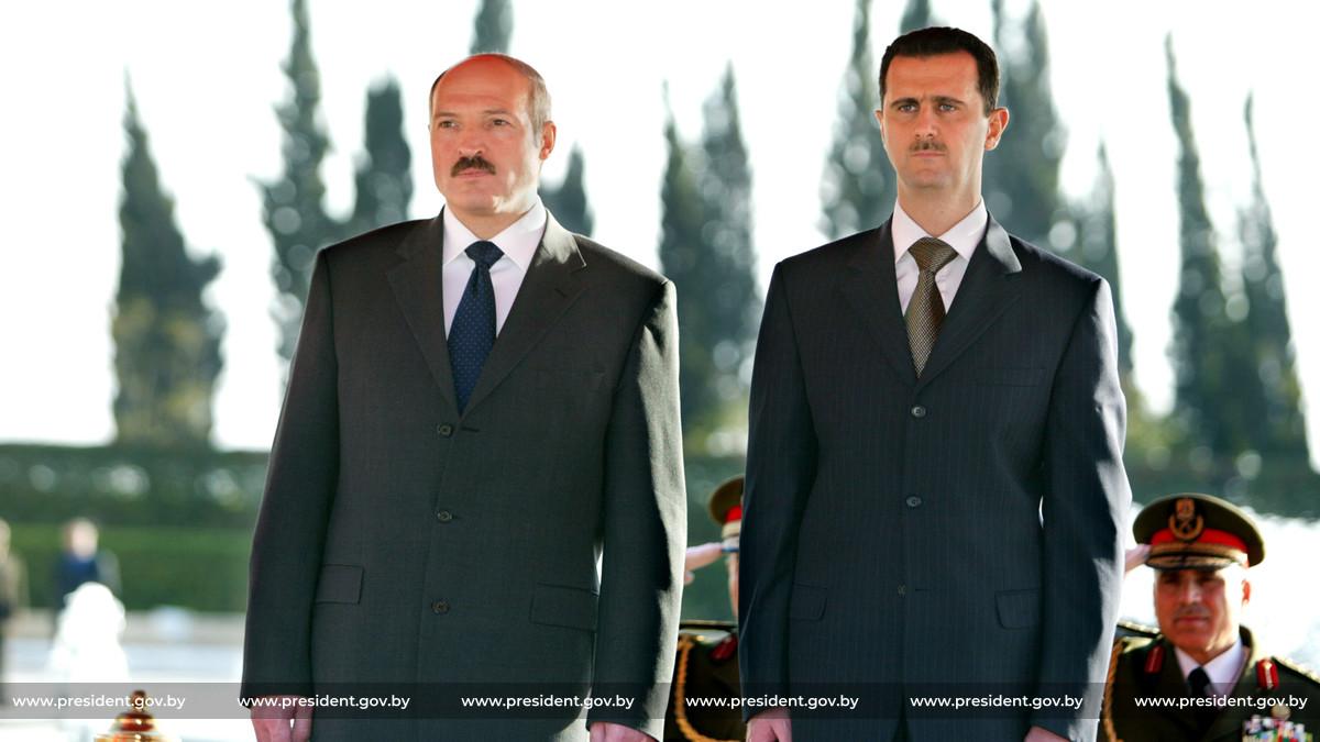 Подставим плечо «братскому сирийскому народу»? Александр Лукашенко поздравил Башара Асада с праздником